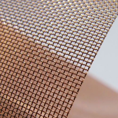 The Phosphor Bronze woven mesh3