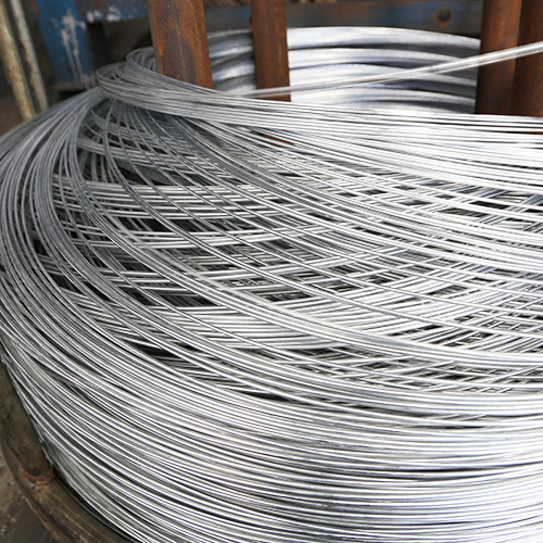 Hot-dipped galvanized wire 4