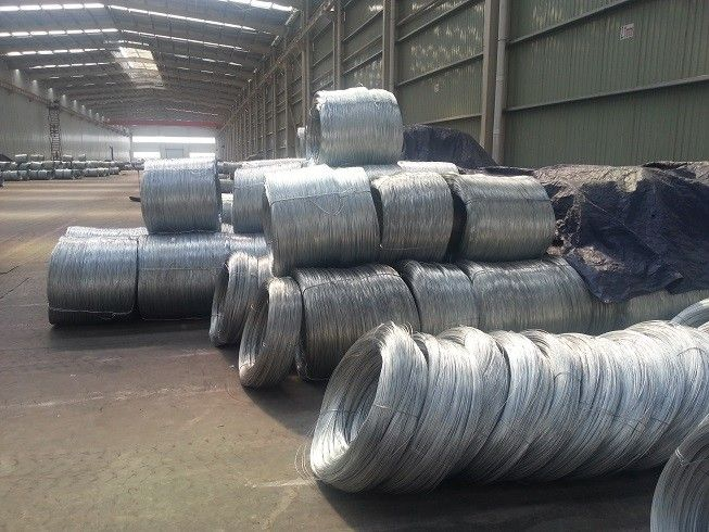 Hot dipped GI wire with zinc coating above 275g